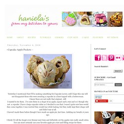 Haniela's: ~Cupcake Apple Pockets ~