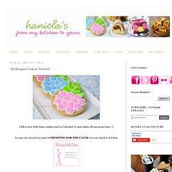 Haniela's: ~Hydrangea Cookies Tutorial~