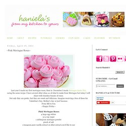 Pink Meringue Roses~