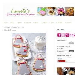 Haniela's: Winter Doll Cookies