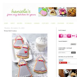 Haniela's: Winter Doll Cookies