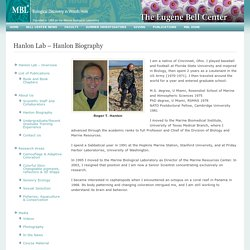 Hanlon Lab – Hanlon Biography