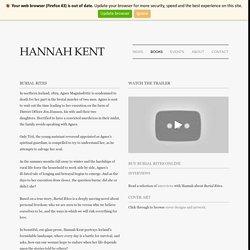 Hannah Kent - Burial Rites - Burial Rites