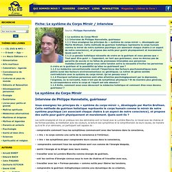 Le système du Corps Miroir - Interview de Philippe Hannetelle, guérisseur