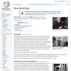 Hans Ruedi Giger