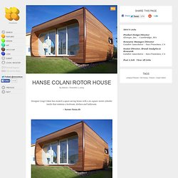 Hanse Colani Rotor House - StumbleUpon