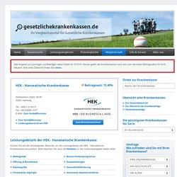 Ihre Anfrage bei der HEK - Hanseatische Krankenkasse - gesetzlichekrankenkassen.de