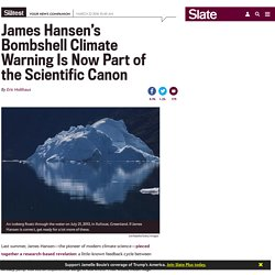Hansen's 2016 Prediction of 2−5m Sea Level Rise Proves Accurate