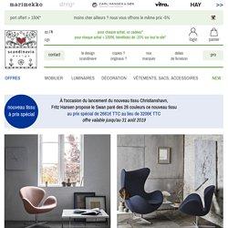 Fritz Hansen – fauteuil Swan – design Arne Jacobsen