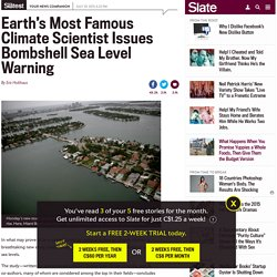 Sea Level Bombshell