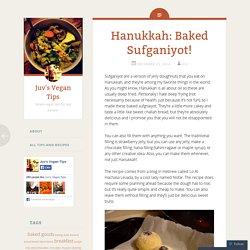 Hanukkah: Baked Sufganiyot!