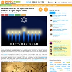 Happy Hanukkah! The Eight-Day Jewish Festival Of Lights Begins Today Kids News Article