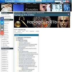 Haplogroup R1b (Y-DNA)