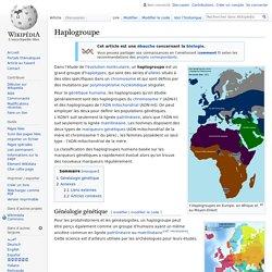 Haplogroupe