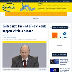 OECD Formally Phase-Out Cash
