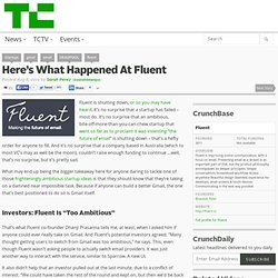Here's What Happened At Fluent