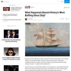 What Happened Aboard History's Most Baffling Ghost Ship?