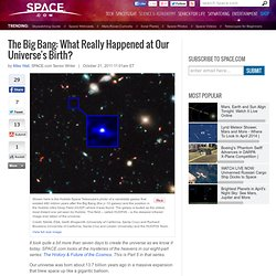 The Big Bang: What Really Happened at Our Universe's Birth?