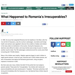 What Happened to Romania's Irrecuperables?