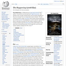 The Happening (2008 film)