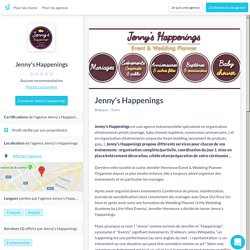 Jenny's Happenings (+ reviews 2019) - Sortlist