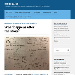 What happens after the story? – Cécile Lainé