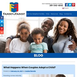 What Happens When Couples Adopt a Child?