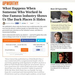 What Happens When Someone Who Worked In One Famous Industry Shows Us The Dark Places It Hides