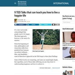TED Talks for being happier - Business Insider Deutschland