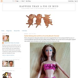 Barbie Bathing Suit & Dress From Headbands