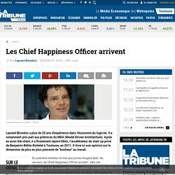 Les Chief Happiness Officer arrivent
