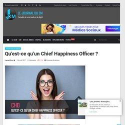Qu'est-ce qu'un Chief Happiness Officer ? - Journal du CM