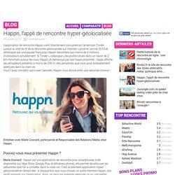 Happn, l'appli de rencontre hyper-géolocalisée