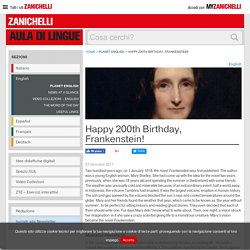 Happy 200th Birthday, Frankenstein!