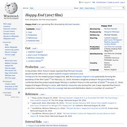 Happy End (2017 film) - Wikipedia