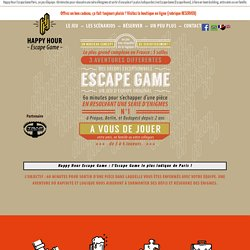 Happy Hour Escape Game - Meilleur Escape Game Paris !