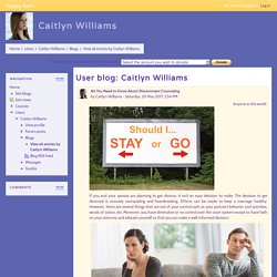 Happy Farm: Caitlyn Williams: Blog