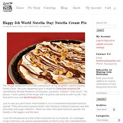 Happy 5th World Nutella Day: Nutella Cream Pie