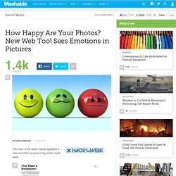 How Happy Are Your Photos? New Web Tool Sees Emotions in Pictures