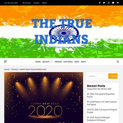 200+ Happy New Year Wishes and Messages for 2020 Latest