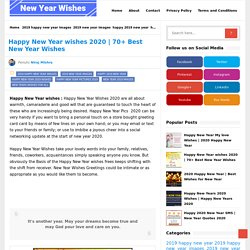 70+ Best New Year Wishes - New Year Wishes