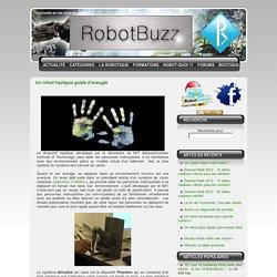 Un robot haptique guide d'aveugle - RobotBuzz.fr
