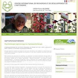 Haptopsychothérapie - CIRDH