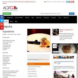 Hapuka Recipe