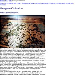 Harappan Civilization, Indus valley civilization