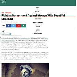 Fighting Harassment Against Women With Beautiful Street Art