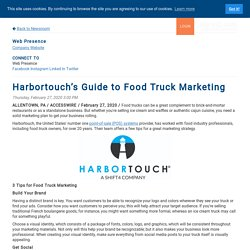 Harbortouch's Guide to Food Truck Marketing