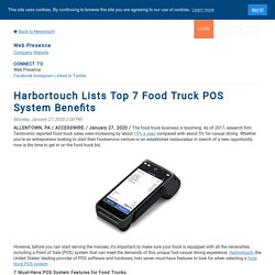 Harbortouch Lists Top 7 Food Truck POS System Benefits