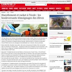 Harcèlement et racket à l'école : les bouleversants témoignages des élèves - 22/11/2013 - LaDepeche.fr