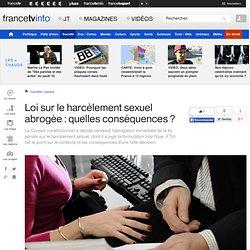 Loi sur le harcèlement sexuel abrogée : quelles conséquences ? - francetv info#xtor=EPR-18-[newsletterquotidienne]-20120505-[lesregions/titre1]